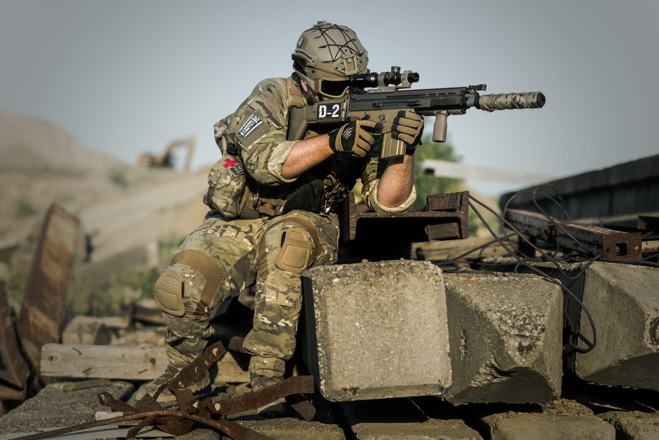 marine soldier